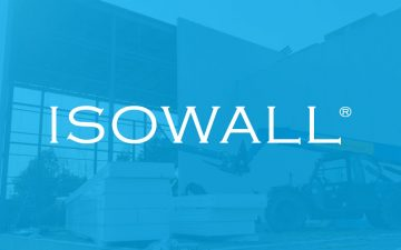 Isowall Insulated Structural Panels Product Featured Image and Logo