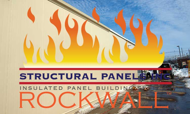 Fire Rated Metal Wall Panel : Fire rated wall panels rockwall™ structural inc