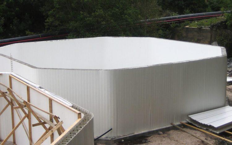 Quickliner PVC Wall Panels for Aquaculture
